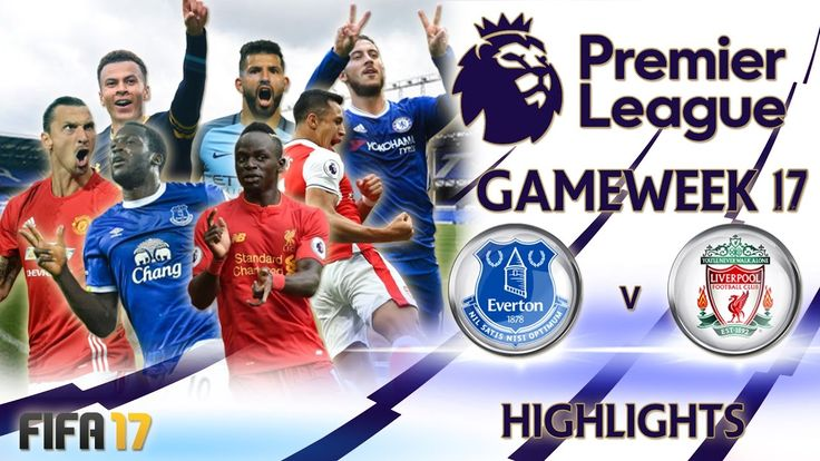 Every game, every goal and every result from Gameweek 17 of the FIFA 17 Premier League.  Fifa 17 presents predictions and highlights for gameweek 17 of the Premier League, featuring 10 huge matches including a Merseyside Derby.   #FIFA #GAMEWEEK #highlights #League #premier