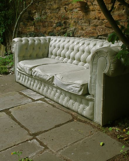 Concrete Chesterfield Sofa by Gray Concrete    Available to purchase, contact info@grayconcrete.co.uk for price and delivery information.
