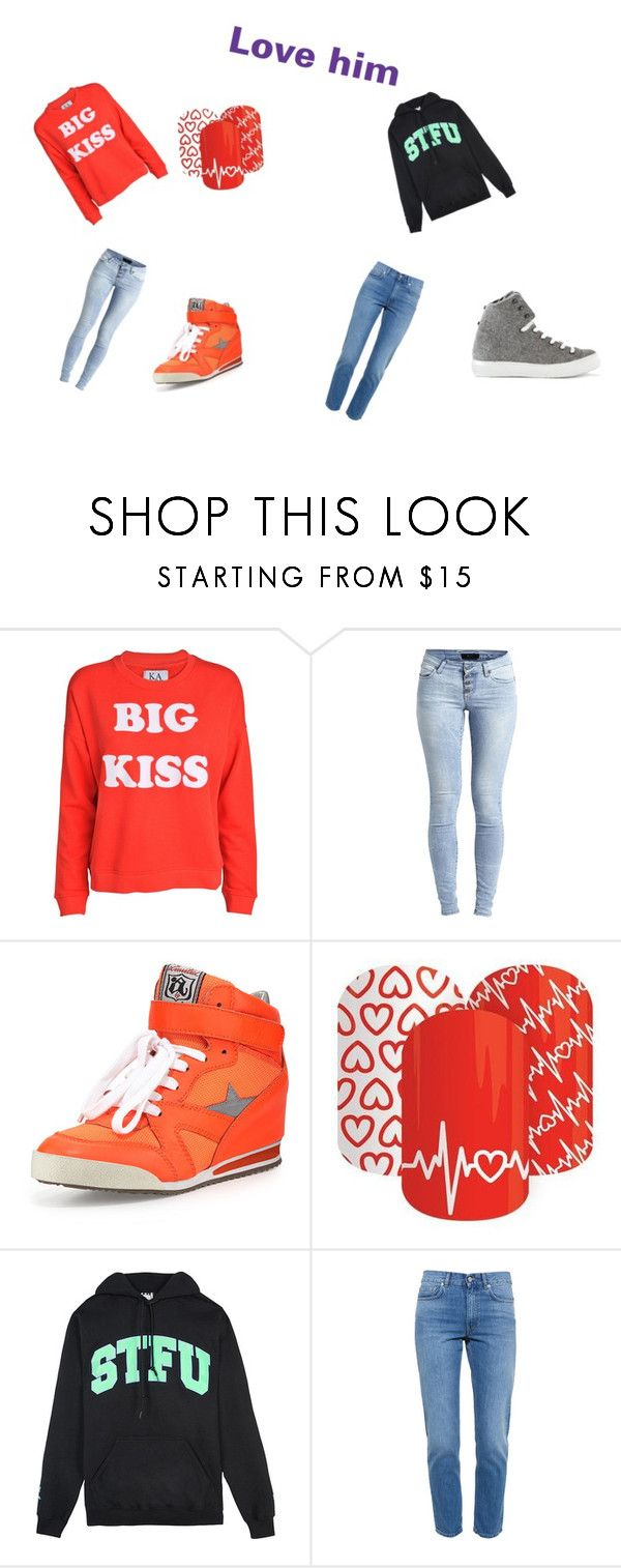 """Love him"" by nellysofab19 ❤ liked on Polyvore featuring Zoe Karssen, Object Collectors Item, Ash, United Couture, Acne Studios and Russy Valenki"