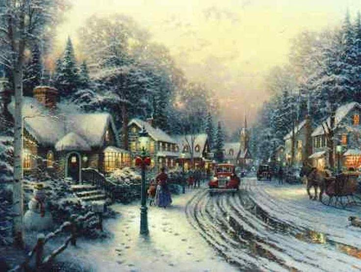 Google Image Result for http://images4.fanpop.com/image/photos/23400000/Thomas-Kinkade-Winter-winter-23436553-1024-774.jpg