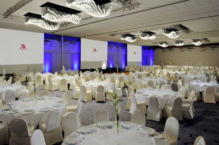 Paris Marriott Rive Gauche Hotel and Conference Center, France. #elegant #light #bulbs #lighting #design #conference #room #hospitality #event #meeting