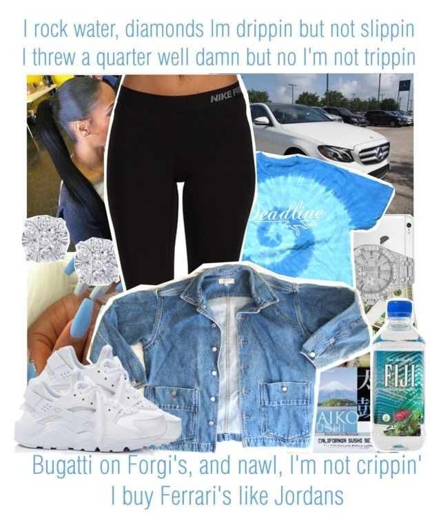 """""""Slippery x Migos ft. Gucci Mane"""" by juicyums ❤ liked on Polyvore featuring Audemars Piguet, Effy Jewelry, NIKE and GUESS"""