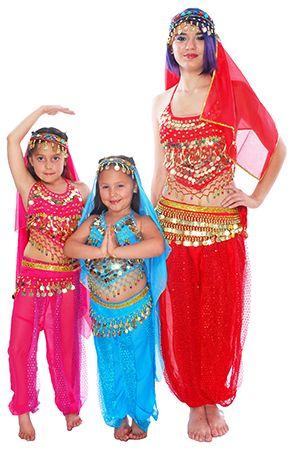 Arabian Princess Belly Dancer / Bollywood Costume - RED  http://www.bellydance.com/Arabian-Princess-Belly-Dancer-Bollywood-Costume--RED_p_5481.html