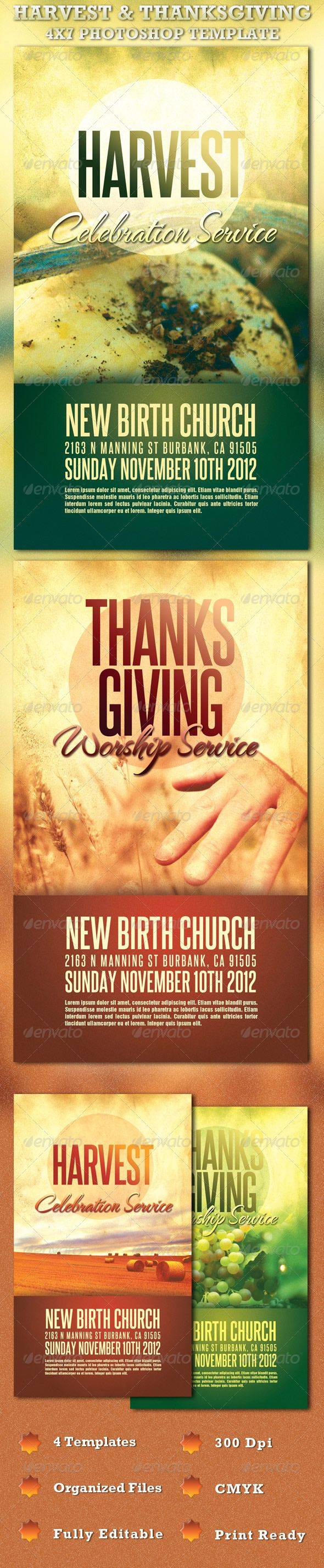 images about christian design flyer template harvest and thanksgiving church flyer template