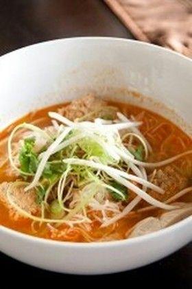 ブンリュウ◇ベトナム 蟹トマト麺