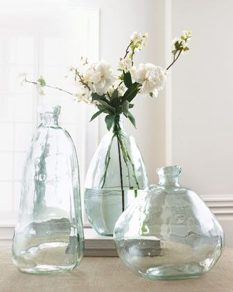 Morph Vases ~ Pottery Barn/they're from pottery barn so i tried not to like them but failed