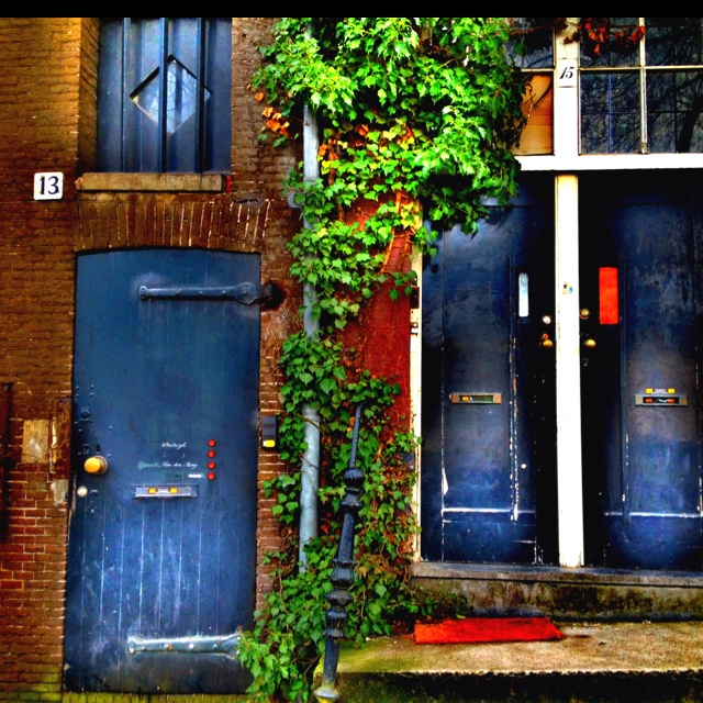 Doors, Amsterdam: Beautiful Doors, Things Orange