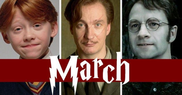 Which Harry Potter Characters Do You Share A Birthday Month With Birthday Month Harry Potter Characters Baby Development