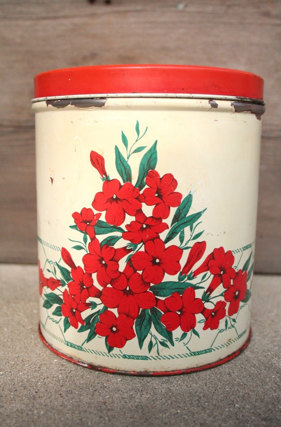 17 best images about vintage kitchen canisters on