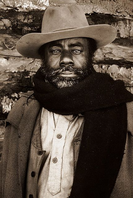 Roscoe Lee Brown, portrait, 'The Cowboys', 1971