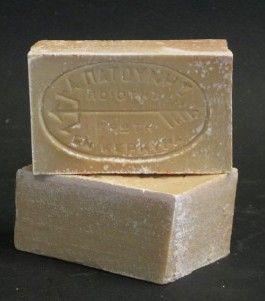 Greek olive oil soap - made in Corfu!