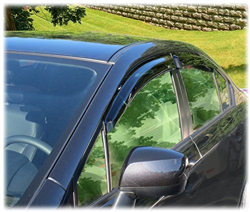 CC Car Worx TapeOn WV12WRXTF Set of 4 Window Visor Rain Guard Deflectors to fit Subaru Impreza WRX  STI SEDAN MODELS ONLY 201520162017 ** Be sure to check out this awesome product.