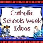 Here is a brief collection of ideas and suggestions for Catholic Schools Week. I hope you find it helpful!  Email and questions, concerns or sugges...