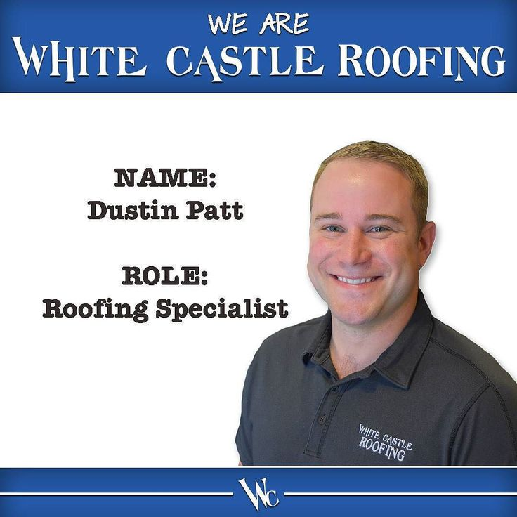 He loves hunting and camping his degree is in horticulture and his favorite movie is about a frontiersman...any idea where you might find Dustin when he's not at work? Get to know him better today! Link in bio. #WeAreWhiteCastle #team #residential #roofing #roofer #roof #Omaha #Lincoln #GrandIsland