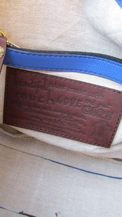 Cobalt Caro, Chiaroscuro, India, Pure Leather, Handbag, Bag, Workshop Made, Leather, Bags, Handmade, Artisanal, Leather Work, Leather Workshop, Fashion, Women's Fashion, Women's Accessories, Accessories, Handcrafted, Made In India, Chiaroscuro Bags - 10