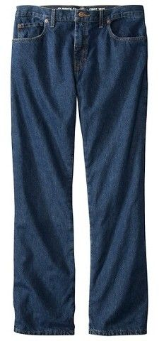 Dickies® - Men's Big & Tall Relaxed Straight Fit Denim Flannel-Lined 5-Pocket Jeans