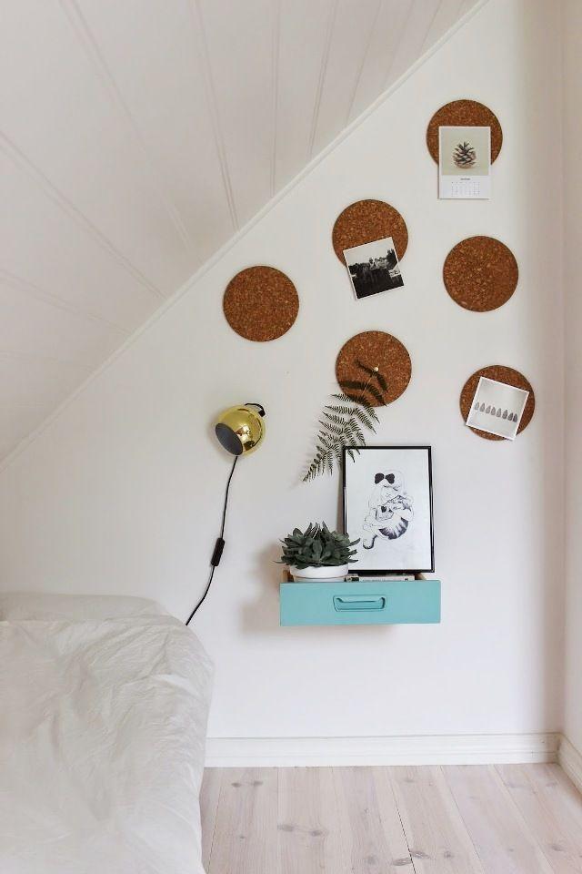 Un cajón como mesita de noche : via MIBLOG