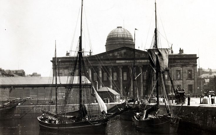 Designed by John Foster junior between 1828 and 1839 after a tour of Greece,   the Custom House helped spark a Greek revival in Liverpool. But it suffered   severe bomb damage in the Second World War, and in 1948 it was decided to   pull it down. Picture: From Batsford's 'Liverpool Then and Now' by Mark Royden. Photo copyright to Anova Picture Library and Liverpool Record Office