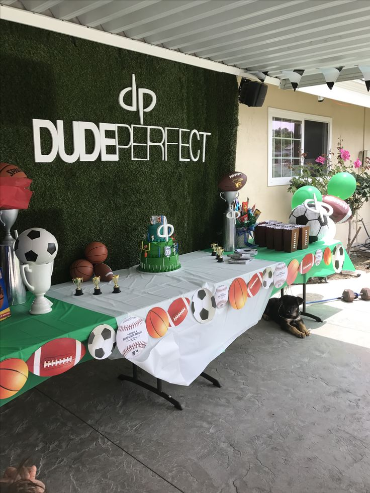 15 Best Dude Perfect Birthday Party Images On Pinterest