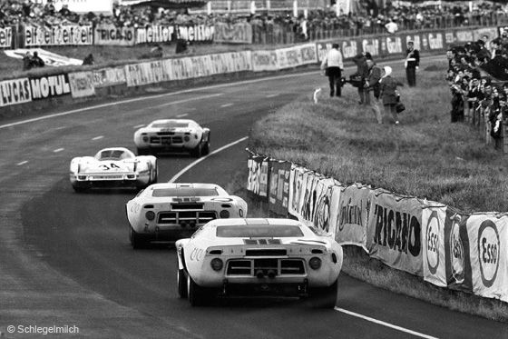 Ford GT40 #11 - Le Mans 1968