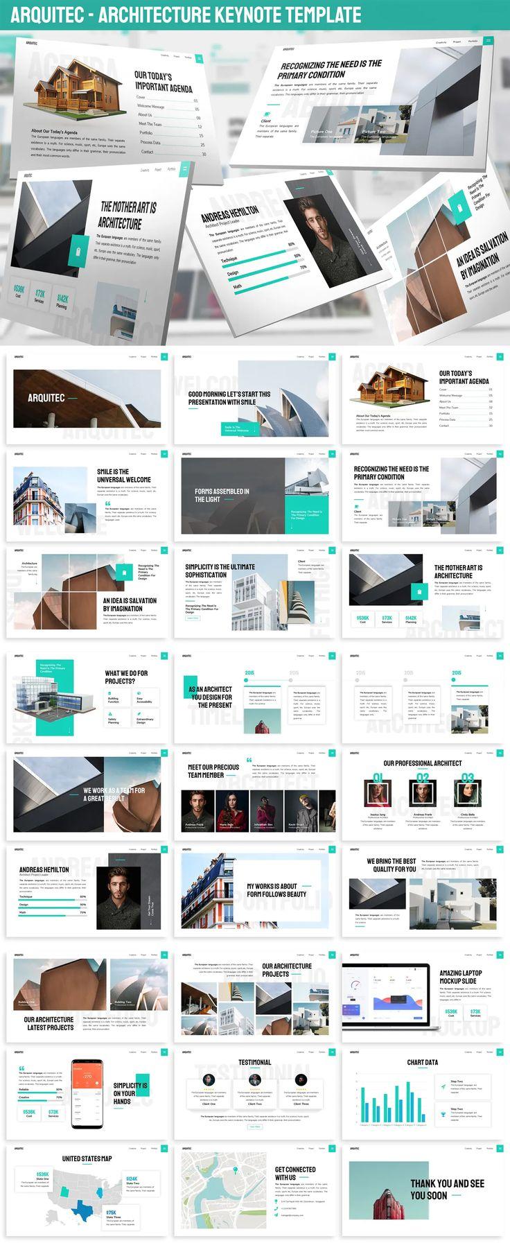 Arquitec - Architecture Keynote Presetation Template