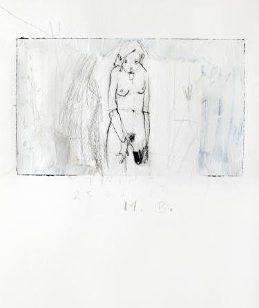 "Saatchi Art Artist Monica Bonzano; Painting, ""Twins3"" #art"