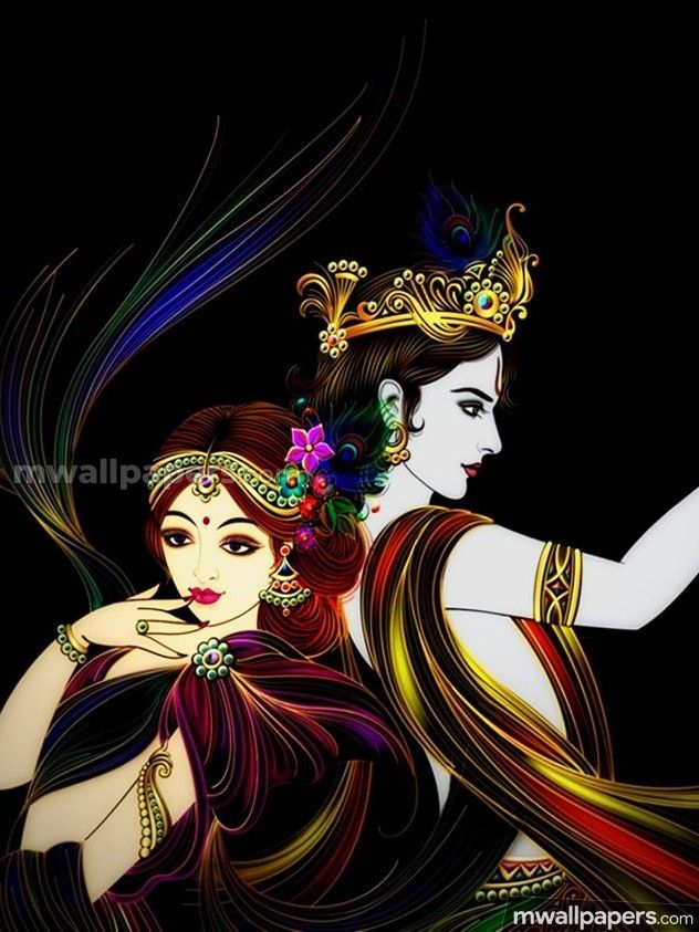 Radha Krishna Beautiful HD Photos (1080p) - #15903