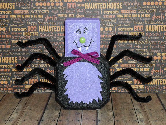 Halloween Paver by WoodWinkles.deviantart.com on @deviantART