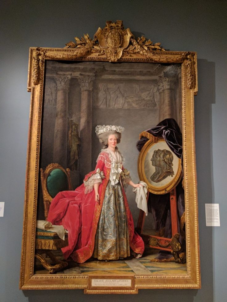 Portrait of Madame Adelaide 1787, by Adelaide Labille-Guiard, Speed Art Museum