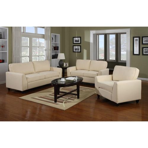 Townsend Studio 3-Piece Living Room Set, Multiple Colors