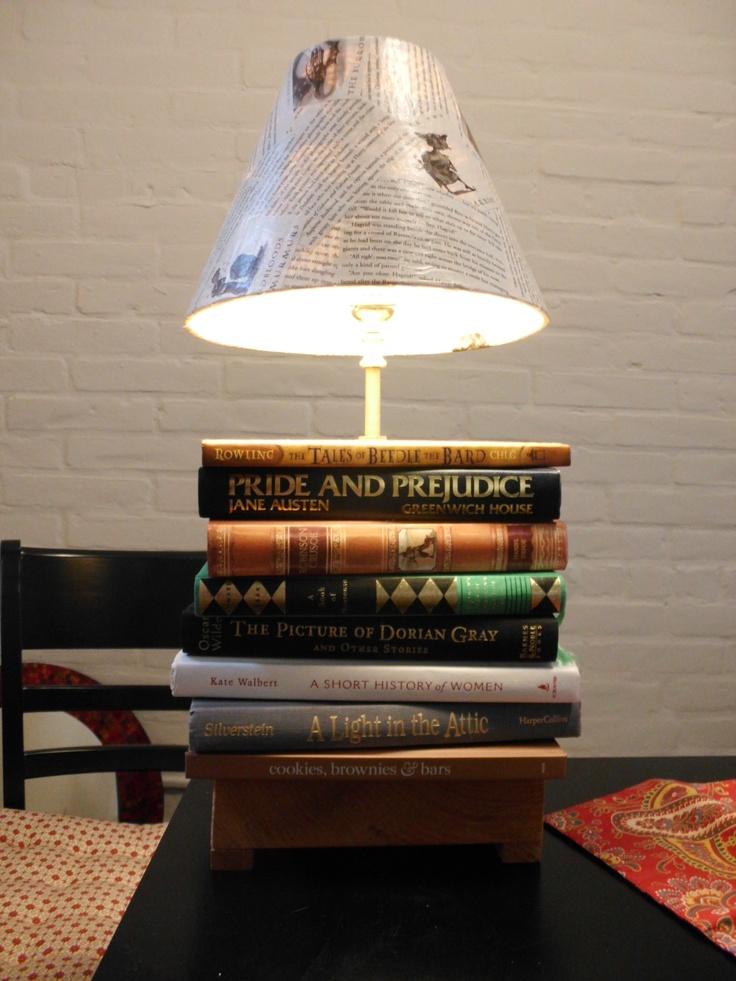 Best 25+ Book Lamp Ideas On Pinterest | Small Bedside Lamps, Light Design  And Shelves