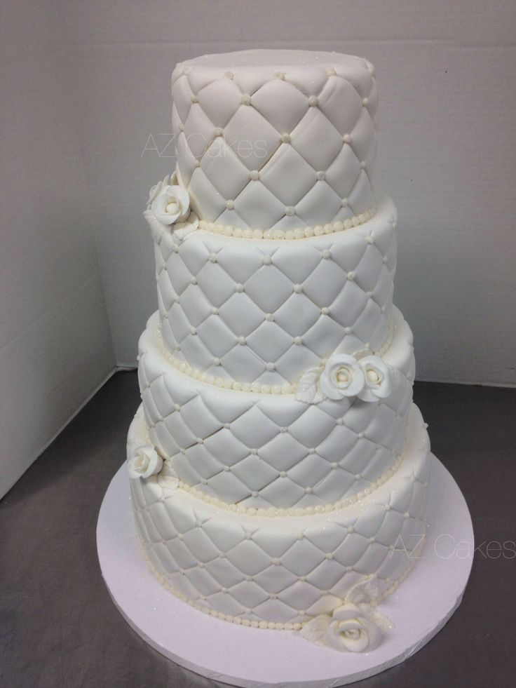 how to make a quilted pillow cake