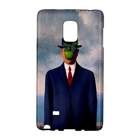 The Son Of Man Renè Magritte Samsung Galaxy Note EDGE Case Wrap Around