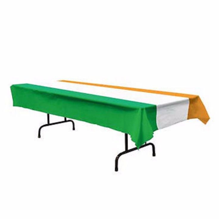 Irish Tablecover 137cm x 274cm - Plastic