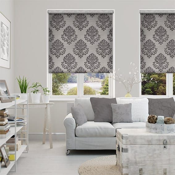 Choices Regalia Silver Grey Roller Blind. Best 25  Grey roller blinds ideas on Pinterest   Blinds  Roller