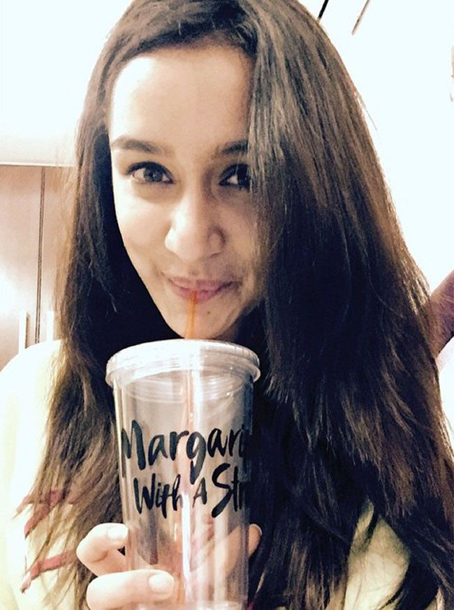 Shraddha Kapoor promoting 'Margarita With A Straw' on #Instagram.