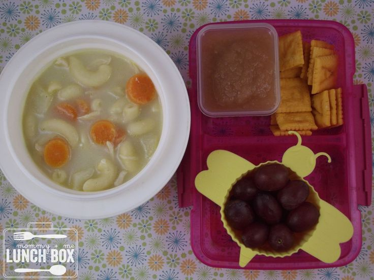 mommy + me lunch box: Chicken Sopas - #FBS4Sandy