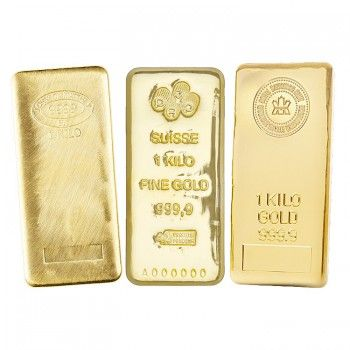 Cheap 1 Kg Kilo Credit Suisse Gold Bar 2020