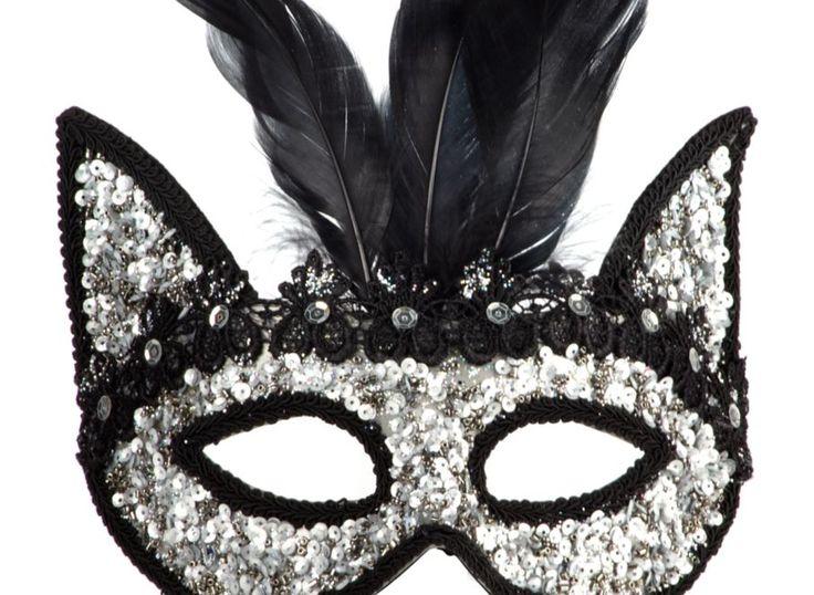Sequin And Feather Mask | Decorative-accessories | Accessories | Decor | Z Gallerie  #halloweenie
