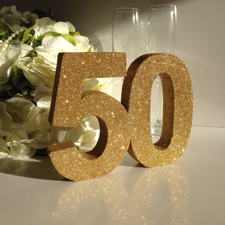 Gold th birthday party decoration anniversary