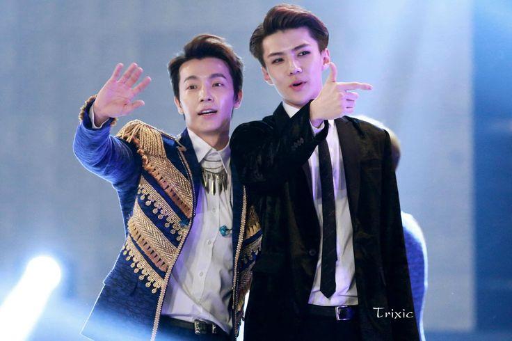 150128 Donghae & Sehun   Gaon Chart K-Pop Awards