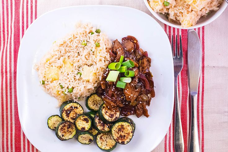 Hoisin Duck and Pineapple Rice
