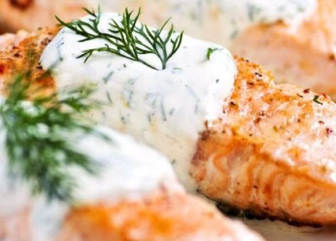 Esta es una muy Deliciosa y Fácil Receta de Salmón al Eneldo, con sus Ingredientes y su Modo de Preparación paso a paso, Recetas Chilenas con Pescados.