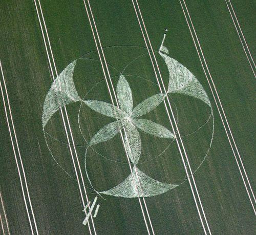 crop circles as mandalas