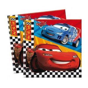16 Kişilik Cars-Arabalar Doğum Günü Parti Seti - Doğum Günü Süsleri   Nice Yaşlara