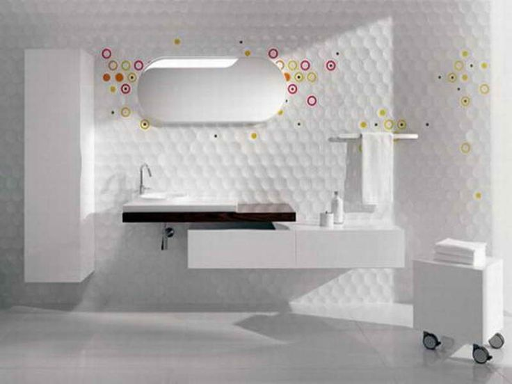 Creating A Stylish Bathroom Wall Tiles Design With The Decoration ~  Http://lanewstalk