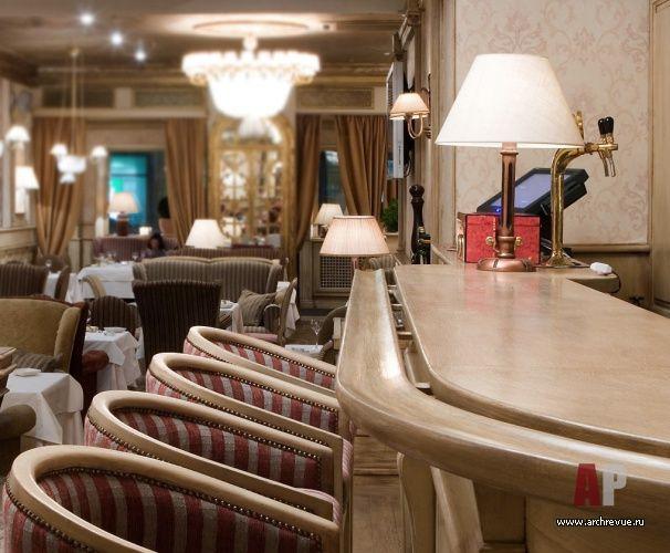 Дизайн интерьера итальянского ресторан BEL МОНДО  в духе европейской эклектики | Interior design italian restaurant BEL Mondi in the spirit of european eclecticism