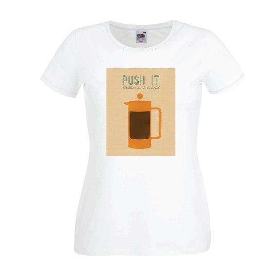 Dames | Lady-fit tshirt Percolator (613820/780)