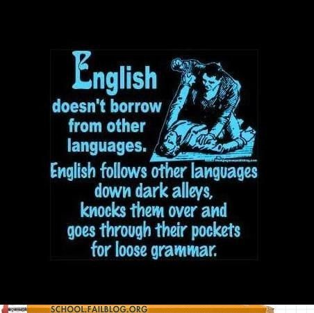Let's Use All the Weird Nonsensical Rules in One Language!: Laughing, Grammar Jokes, Englishgrammar, English Language, English Teacher, Truths, Funny Quotes, English Grammar, True Stories