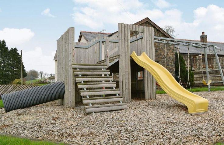 Children's play area | Ty Cerrig Farmhouse, St Clears, nr. Laugharne
